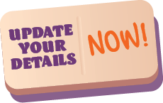 Update your details now!